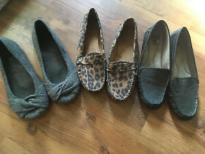 Size 9 women's shoes {blowfish, old navy, life stride}