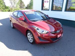 2014 Hyundai Elantra GL only $117 bi-weekly all in!