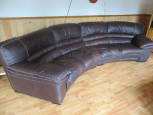 Leather 2 pcs. sectional
