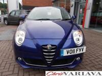 2011 Alfa Romeo Mito 1.4 16V Sprint 3dr Petrol blue Manual