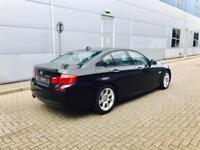 2012 12 reg BMW 525d M Sport BLACK + BLACK LEATHER + SAT NAV