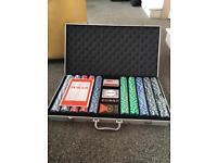 SOLD Poker Set