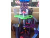 Monster High Doll's House and other items