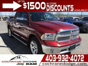 2015 Ram 1500 Laramie Limited w/EXT WARRANTY!