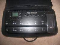 Line 6 POD HD500X + Gig Bag – Multi Effects Processor & Amp Emulator for Guitar , Bass and Vocal.