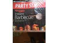 BBQ Disposable New x2 plus Extra Charcoa