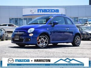 2014 Fiat 500 SPORT, POWER WINDOWS, KEYLESS ENTRY