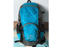Quality slimline small rucksack with multiple pockets, costs £44.95, bargain at only £15, immaculate