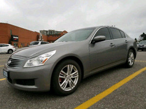 2009 Infiniti G37x AWD Luxury Premium Package Nav/backup Camera