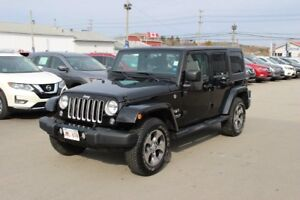 2016 Jeep Wrangler Unlimited Sahara Perfect Vehicle For Summer!!