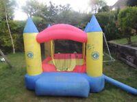 Toddlers Bouncy Castle & Air Pump