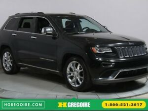 2014 Jeep Grand Cherokee SUMMIT 4X4 TOIT PANORAMIQUE NAVIGATION