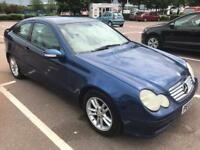 2003 Mercedes C180. Kompressor Compact Immaculate YEARS MOT. LOW MILES. MERCEDES HISTORY. WARRANTY