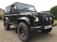 2003 (53) LAND ROVER DEFENDER 90 2.5 TD5 COUNTY, MASAI PANORAMIC GLASS SIDE WINDOWS, LOW MILES