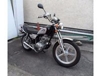 Immaculate Huoniao 125cc cruiser motorcycle. Reg. December 2016, 800 miles Fully serviced.