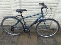 mens apollo hybrid aluminium bike ready to ride