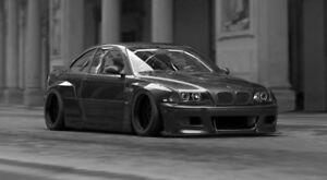 2005 BMW M3 | Rolling shell | Perfect Rocket bunny/body part car