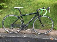 Raleigh Airlite 300 Road Bike. X Small. Carbon Forks.