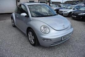 Volkswagen Beetle 1.6 SILVER 2004 +GENUINE LOW MILEAGE+