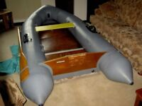 Avon Inflatable Boat Dinghy Rover 3.1 Wood Floor + Inflatable Keel. also Outboard Motors.