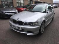 2004 BMW 330 3.0 auto M Sport 75k