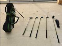 Child's golf club set
