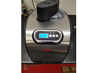 COOKS PROFESSIONAL FULLY AUTOMATIC ICECREAM MAKER RRP 159.99
