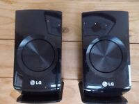 LG 5.1 Surround sound speakers. No Amplifier