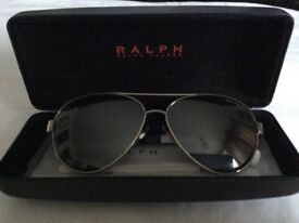 Brand NEW Ralph Lauren Sunglasses with Hard Case