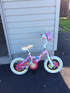 12 inch Disney princess bell bike