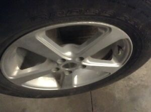 Rtx mags 17 inch with continental summer tires 235/65/17