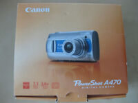 Canon Powershot A470 Digital Camera