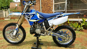 Pieces ENDURO YAMAHA YZ250 YZ125 YZ450 suspension, pipe, Rekluse