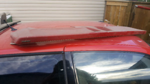 Lund cab visor for square body Ranger and B series truck