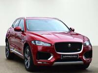 Jaguar F-pace V6 S AWD (red) 2017-03-27