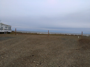 Lot for rent by the Ocean - at Green-Point, NB