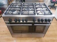 Kenwood Double Oven Range Cooker 90cm width. Free Local Delivery