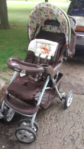 Graco carseat stroller combo