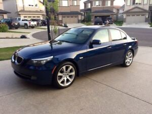 2008 BMW 5-Series X Drive Sedan Fully Loaded Twin Turbo No Rust