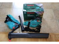 Used garden leaf blower and vacuum bosch