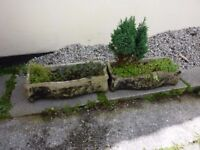 VINTAGE GARDEN PLANTERS/TROUGHS IN REALLY GOOD CONDITION