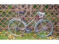 "Ladies Townsend Racing bike. 6 speed, 21"" frame (53cm). Fully serviced. Ready to ride away"