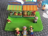 Toys - market stall