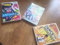 Wii Games tiny scratches