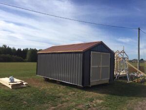 new 12 x 22 storage building
