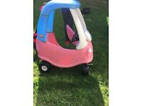 Girls little tikes crazy coupe