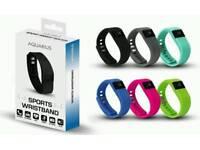 5 x Aquarius Fitness Wristband Watch Smart Bluetooth Activity Tracker Calorie Sleep