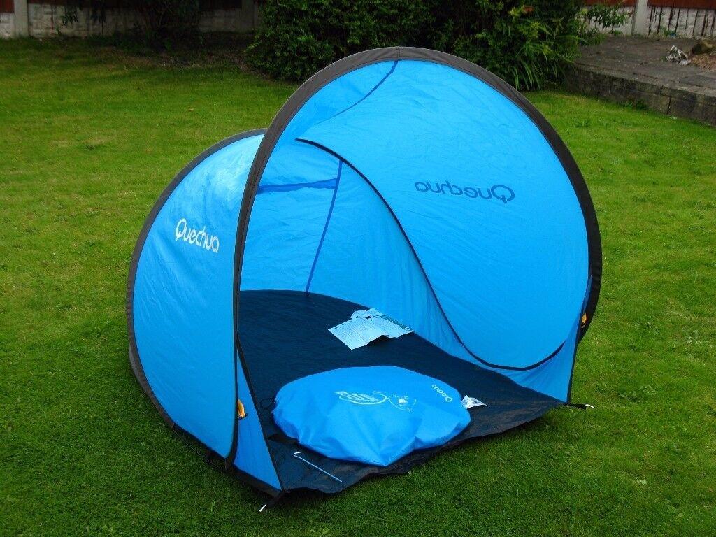 Quechua 2 Pop Up Beach Tent Wind Break
