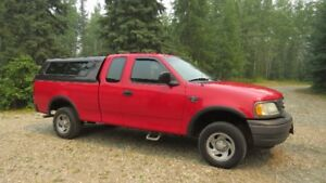 2002 Ford F-150 Supercab Pickup 4X4 Truck