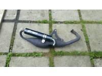 Piaggio / gilera 50cc 70cc performance sports exhaust zip runner Typhoon Ice aprilia sr stalker